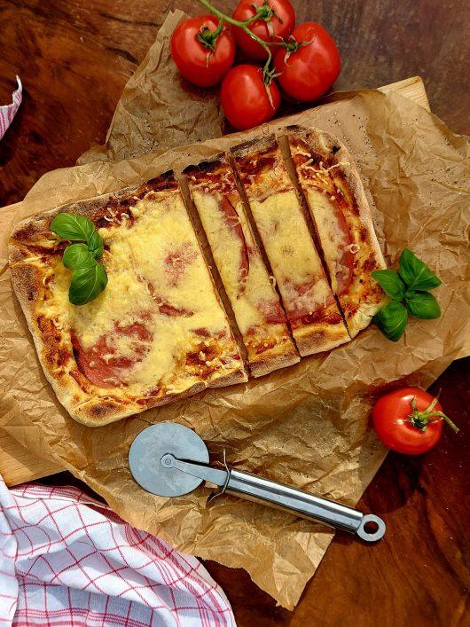 Sonkás pizza