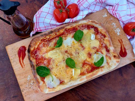Négysajtos pizza